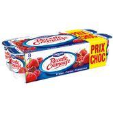 Danone yaourt aux fruits rouges 8x125g prix choc