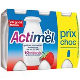 Actimel fraise 6x100g prix choc