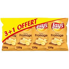 Lay's chips fromage 3x130g +1offert