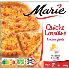 Marie Quiche Lorraine aux lardons fumés 400g