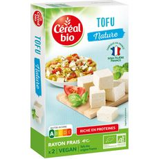 CEREAL BIO Tofu nature 2 portions 250g