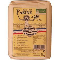 MOULINS DE VERSAILLES Farine de blé bio T65 1kg