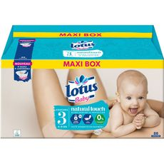 Lotus baby Natural touch couches taille 3 (4-9kg) x88