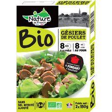 confit de gésiers de poulet bio 300g