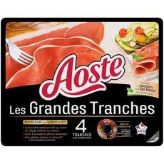 Aoste Jambon cru 4 grandes tranches 100g