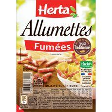 HERTA Allumettes fumées 200g