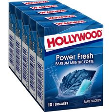 Hollywood HOLLYWOOD Powerfresh chewing-gums sans sucres menthe forte