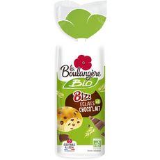 LA BOULANGERE Briochettes bio bizz éclat choco lait 6 pièces 240g