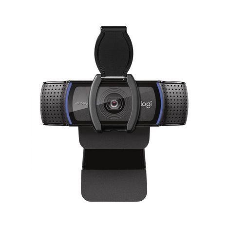 LOGITECH Webcam HD Pro C920s Noire Résolution 1080p / 30 ips - 720p - 30 ips