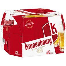 Kronenbourg Bière blonde 4,2% bouteilles 26x25cl