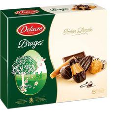 DELACRE Delacre assortiment de 8 biscuits 2x200g 2x200g