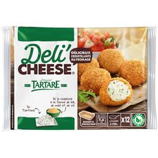 DELI'CHEESE Croustillants au fromage tartare 9x20g