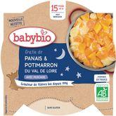 Babybio assiette gratin panais potimarron 260g dès 15mois