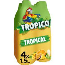 TROPICO Boisson tropical pétillante 4x1,5l
