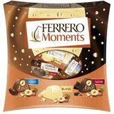Ferrero Ferrero Moments assortiment de chocolat blanc, au lait et noir 190g