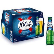 Kronenbourg 1664 bière blonde 5,5% 20x25cl