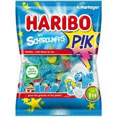 HARIBO Les Schtroumpfs P!k bonbons gélifiés acidifiés 275g