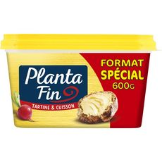 PLANTA FIN Planta Fin Margarine doux 600g 600g