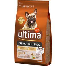 ULTIMA Croquettes au poulet pour chien french bulldog 1,5kg