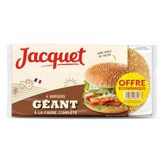 Jacquet hamburger complet géant x4 -330g