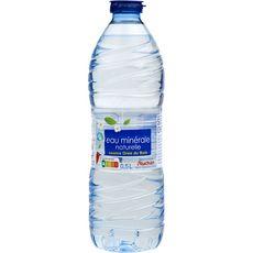 Auchan eau minérale naturelle 50cl