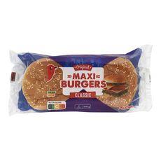 Auchan pain hamburger maxi x4 -330g
