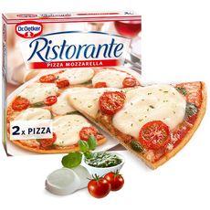 DR OETKER Pizza mozarella ristortante 2 pièces 670g