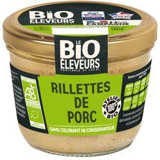 BONJOUR CAMPAGNE Rillettes de porc bio 190g