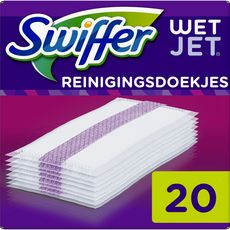 Swiffer Wet Jet recharges lingettes x20