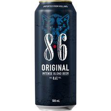 8.6% Bière originale 8,6% boîte 50cl