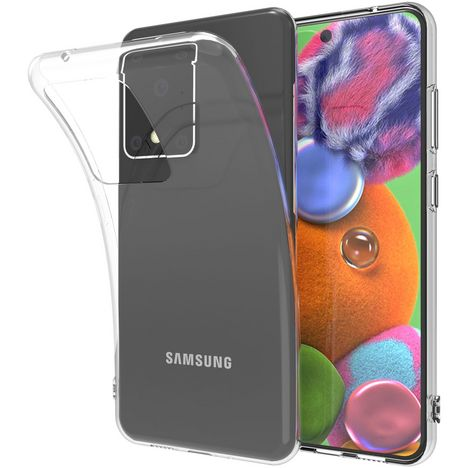 QILIVE Coque pour Samsung Galaxy S20 Ultra - Transparent