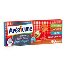 Apéricube APERICUBE Cubes de fromage apéritif Charcut' Fromages