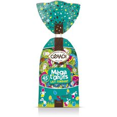 CEMOI Cémoi Méga oeuf praliné et chocolat au lait 450g 450g