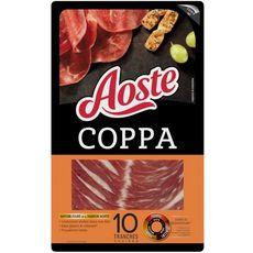 AOSTE Coppa sélection 10 tranches 100g
