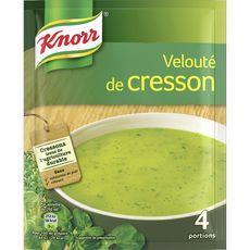 Knorr soupe déshydratée velouté cresson 4x53g