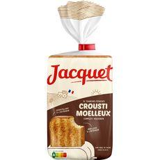 Jacquet crousti moelleux pain de mie complet 730g