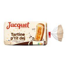 JACQUET Tartines p'tit déj à la farine complète 410g