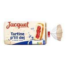 Jacquet tartine p'tit déj nature 14 tranches 410g
