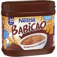 NESTLE Nestlé Babicao céréales au cacao en poudre dès 10 mois 400g 400g