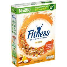 FITNESS Céréales petit déjeuner aux fruits 375g