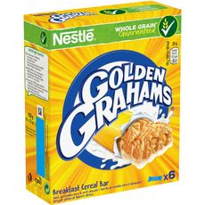GOLDEN GRAHAMS Golden Grahams barres 6x25g