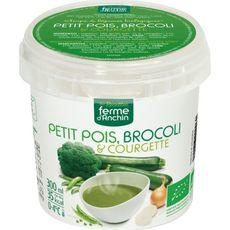 Ferme d'Anchin bio potage petits pois, brocolis et courgette 300ml