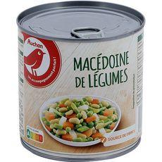 AUCHAN Macédoine de légumes 265g