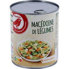 AUCHAN Macédoine de légumes 530g