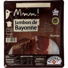 Mmm! Jambon de Bayonne IGP 10 tranches 200g