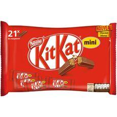KIT KAT Kit Kat Mini barres chocolatées 21 barres 350g 21 barres 350g