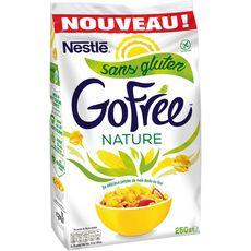 NESTLE GOFREE Nestlé Gofree Pétales de maïs chocolat sans gluten 250g 250g