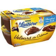 Nestlé LA LAITIERE Velours de crème au chocolat au lait 4x85g