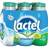Lactel lait écrémé U.H.T. bouteille 6x1l