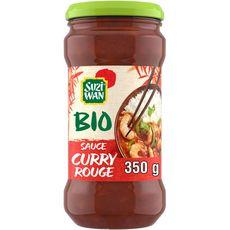 SUZI WAN Sauce bio au curry rouge 350g